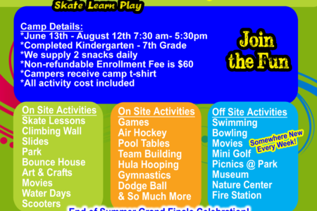 Smoky Mountain Sk8way Offers a FUN SUMMER...
