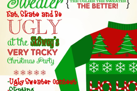 Ugliest Sweater Contest