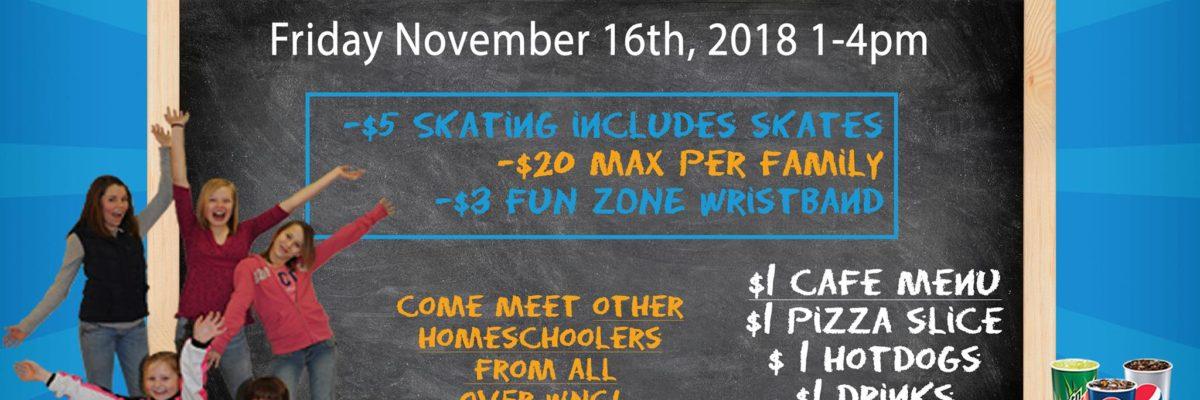 Homeschool Skate Nov 2018
